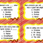 Chinatown Quiz Quiz Trade Cards Harcourt Trophies 2nd
