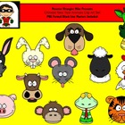 Chinese New Year Animals -- PNG Format for Personal or Com