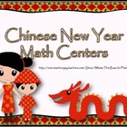 Chinese New Year Math Centers