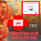 Chinese New Year Red Envelope {FREE}