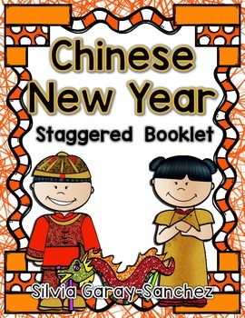 Chinese New Year Staggered Booklet