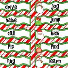 Chistmas Grammar (Nouns, Verbs, Adjectives, and Adverbs)