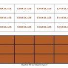Chocolate Bar Fraction Freebie