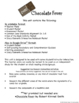 Chocolate Fever Teaching Novel Unit ~ Common Core Standard
