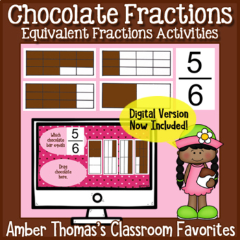 Chocolate Fractions: Equivalent Fractions Activity