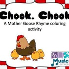 Chook, Chook- Mother Goose Nursery Rhyme SMART Board Lesson