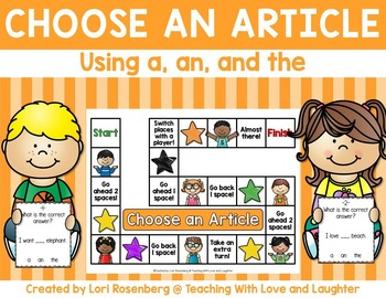 Choose an Article Game