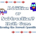 Choose the Operation Math Game (3 Digit Word Problems)