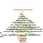Chrismas poem with poetic devices
