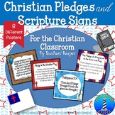 Christian Pledges and Scripture Signs