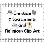 Christian Sacraments and Other Clip Art - No Strings Attached!
