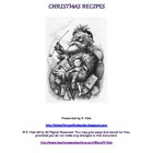 Christma Recipes FREE Printable Recipe Booklet