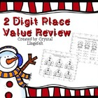 Christmas 2 digit Place Value Review