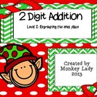 Christmas 2 digit addition Level 2