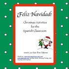 Christmas 6-12 Spanish Activities/ Navidad