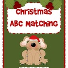 Christmas ABC Matching - Uppercase and Lowercase