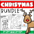 Christmas Activities Bundled Set! Math, Writing, and Readi