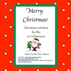 Christmas Activities K-1st Grade