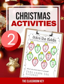 Christmas Activity Packet, 2nd Grade