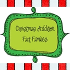 Christmas Addition Fact Families to 12