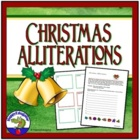 Christmas Alliterations Activity