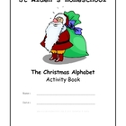 Christmas Alphabet Activity Book