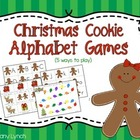 Christmas Alphabet Games