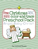 Christmas Angel ABC Preschool Pack
