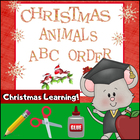 Christmas Animals ABC Order for Primary Students