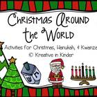 Christmas Around The World, Hanukkah, &amp; Kwanzaa Literacy &amp;