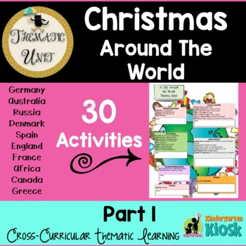 Christmas Around The World Thematic Common Core Essentials