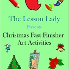 Christmas Around the World Art Activities for Fast &amp; Early