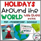 Christmas Around the World Booklet and Doll Project
