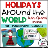 Christmas Around the World Webquest, Booklet, Doll Template