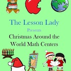 Christmas Around the World Math Worksheets for Centers