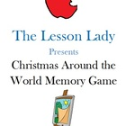 Christmas Around the World Memory Game