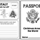 Christmas Around the World Passport! (13 Countries)