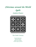 Christmas Around the World Quilt - Student Project
