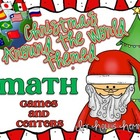 Christmas Around the World Themed Math Games and Centers