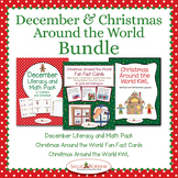 Christmas Around the World and December BUNDLE - Activitie