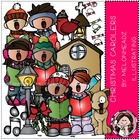 Christmas Caroler bundle by melonheadz