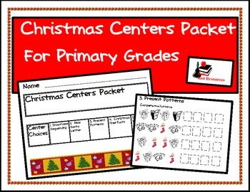 Christmas Center Packet