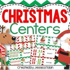 Christmas Centers for Math and Literacy