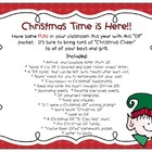 Christmas - &quot;Classroom Elf&quot; printables!