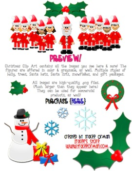 Christmas Clip Art for Commercial Use