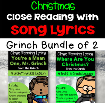 Christmas Close Reads: The Grinch Bundle!!