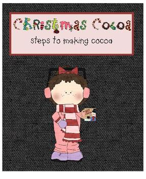 Christmas Cocoa Activity - Steps in a Process