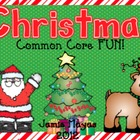 Christmas Common Core Fun!