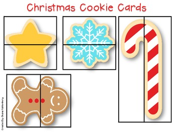 Christmas Cookie Common Core {5 Yummy Math Centers and 5 D