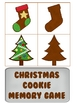 Christmas Cookie Memory Match